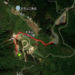 大平山展望広場(防府)