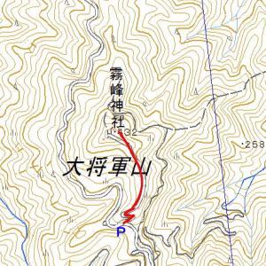 大将軍山(霧峰神社)