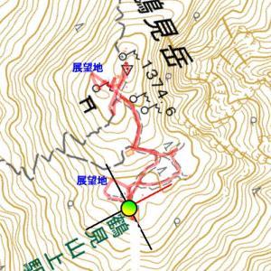 鶴見岳山頂散策
