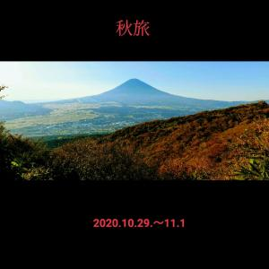 駅弁と紅葉の秋旅は、ぐるり富士山、信州、甲州、初島、車旅。〈信州平谷道の駅〉