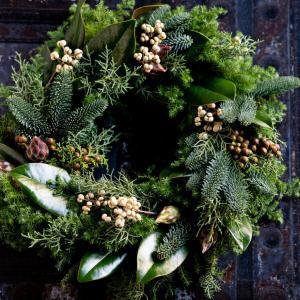 アイロニー*森の香りのナチュラルリース*クリスマス本番までお作りいただけます♡