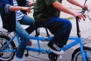翔くんと相葉ちゃんの新番組観ました。宮古島での水色の自転車と/翔くんのオトノハ…白になった5色。