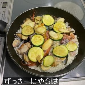 夕飯ースペイン料理