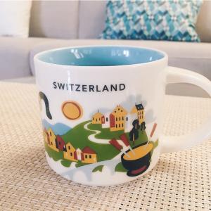 """スイスのスターバックスで購入できる""""You are here collection""""マグカップ!"""