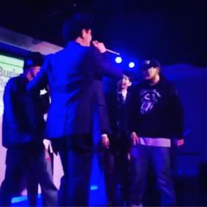 リーマン最強ラッパーBOZさんと大学生チャンピオンT-Tongueの優勝候補コンビを40歳のラッパー課長SATO-Cと20歳の大和コンビが倒した夜