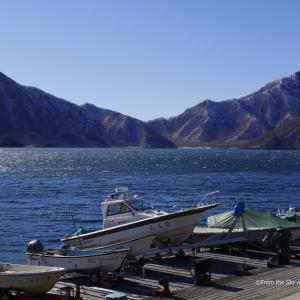 元日の中禅寺湖