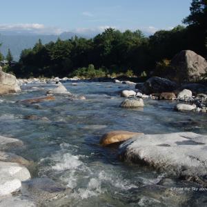 太田切川の清流