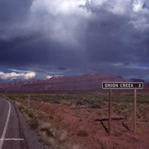 荒野に架かる虹