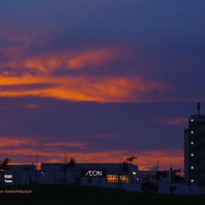 COSTCOと紅い空