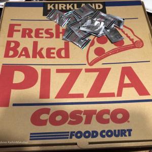 COSTCOのピザ