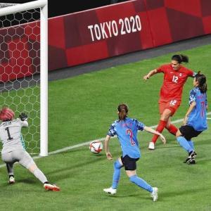 女子サッカーなでしこジャパンvsカナダ