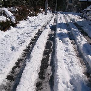 雪の予報、2年前の大雪の日の着物