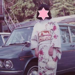 叔母からのもらいもの、比叡山の麓に住んでいた頃♪