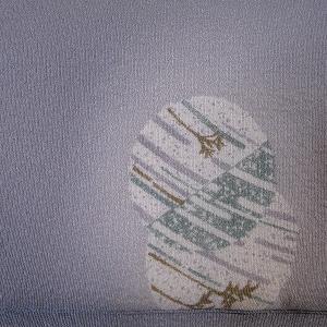 クリスマス小紋と呼んでいる飛び柄の小紋♪