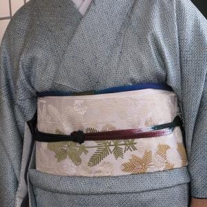 総絞りの着物で女優さんと歌舞伎「忠臣蔵」を観に♪