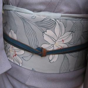 レースの道行きコートで鎌倉へ、藤も白雲木も満開♪
