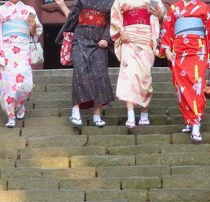 鎌倉、四季折々のレンタル浴衣♪