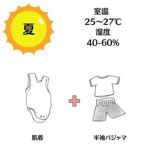 梅雨の季節・どんな環境と服装で寝かせればいいの?