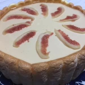 【お菓子の話】イチジクのババロアケーキ(レシピあり)