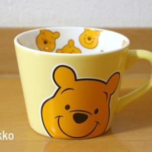 プーさんの可愛いマグカップを買ったよ~💛