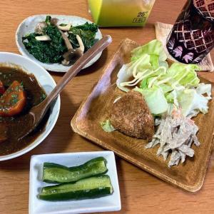 道の駅の野菜とお惣菜、ポークシチュー他