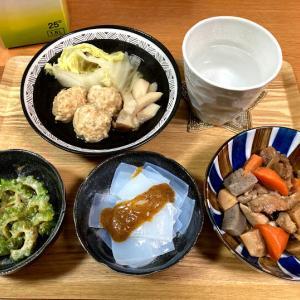 ファミマのお母さん食堂「筑前煮」、白菜と鶏つくねのスープなど
