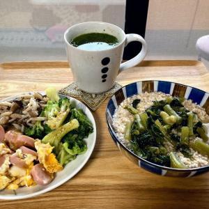 おからお好み焼き・エリンギの生姜オイルソテー、お昼は元夫と『餃子の王将』へ