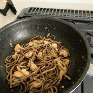 まとめて作り置き、ぜんまい煮、ワカメとろとろ煮など