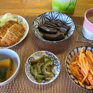 人参カラムーチョ、冷凍野菜の作り置き、揚げミンチなど