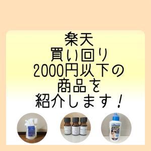 楽天買い回りにおすすめ! 2000円以下の商品を紹介します! 2019
