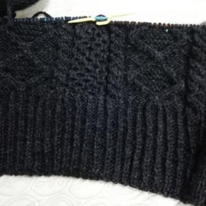 セーター始めました。