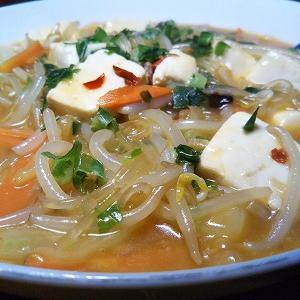豆腐と春雨の麻婆煮