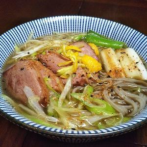 鴨葱 (『炒飯』 & 『鴨南蛮蕎麦』)
