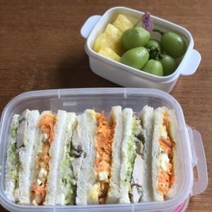 今日のお弁当  ~サンドイッチ~