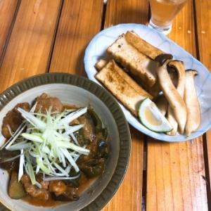 鶏と茄子とピーマンの味噌しぎ リメイク