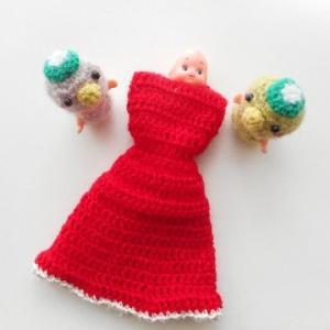 赤いドレスのリカちゃんは・・・はじまりはじまり~