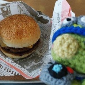 ハンバーガーはエンダー「A&W」!(^^)!