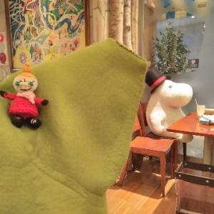 ムーミンカフェで・・・(^_-)-☆
