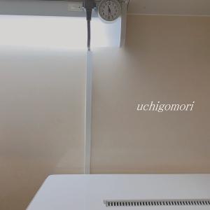 住まいの印象をラックアップさせるコツ!コード類の配線処理…今回は食洗機の電気コードです。。