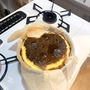 大好きなバスク風チーズケーキ!好き過ぎて自分で作る。。