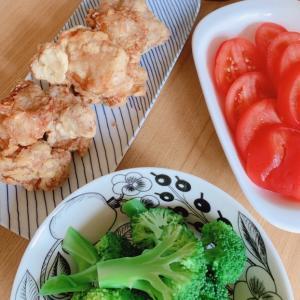 神レシピ♪今日のランチはから揚げ定食。。