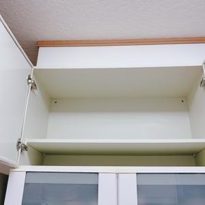 かたづけ祭!【システムキッチン吊戸棚食器棚側】。。