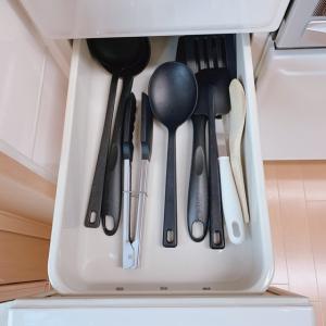 自宅の片付け!キッチンは無事終了【3段引き出し&食器棚下収納】