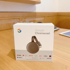 良いもの買ったぁ~Google Chromecast。。