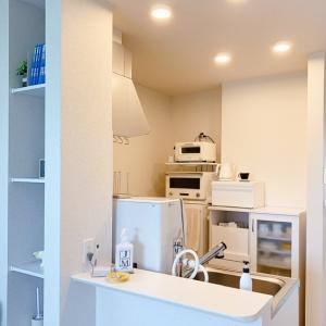 【キッチン:食器棚】【その7.引き出し】この食器棚、唯一の引き出し収納。。
