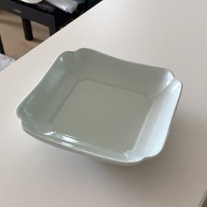 【届いたらレポ♪】東屋。木瓜角皿。正角!やっぱり好きよ~サイズ感。。