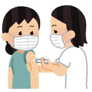 大学生娘。ワクチン無事一回目終了&今日の昼ごはん。。