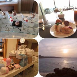 沖縄ホテルホッピング(10)ハレクラニ沖縄クラブラウンジでアフタヌーンティ&お散歩:2019秋