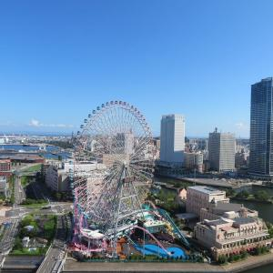横浜ベイホテル東急(1)ベイクラブフロア・ベイビュールーム