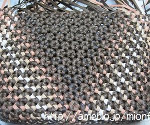 カラフルな花結び編みを楽しむ 6 秋色3